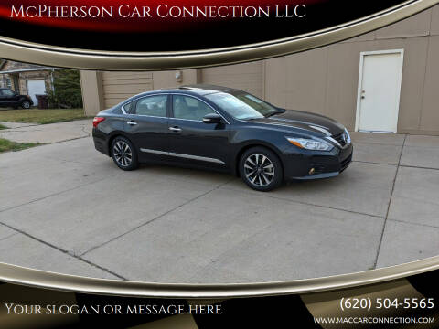 2016 Nissan Altima for sale at McPherson Car Connection LLC in Mcpherson KS
