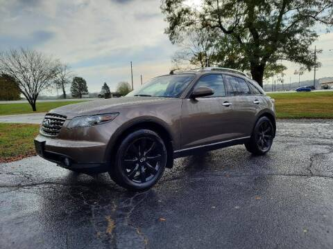 2005 Infiniti FX35 for sale at Moundbuilders Motor Group in Heath OH