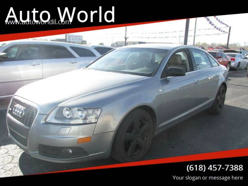 2008 Audi A6 for sale at Auto World in Carbondale IL
