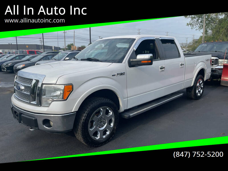 2011 Ford F-150 for sale at All In Auto Inc in Palatine IL