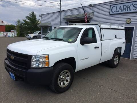 2011 Chevrolet Silverado 1500 for sale at CLARKS AUTO SALES INC in Houlton ME