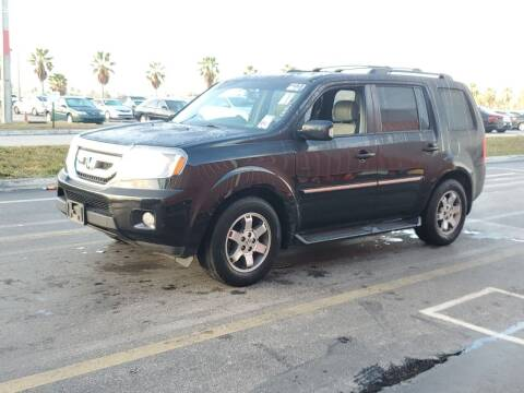 2010 Honda Pilot for sale at L G AUTO SALES in Boynton Beach FL