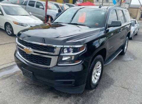2017 Chevrolet Tahoe for sale at Drive Deleon in Yonkers NY