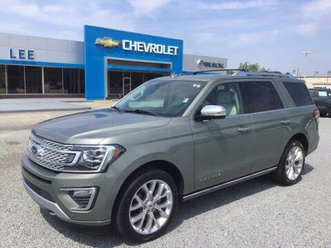 2019 Ford Expedition for sale at LEE CHEVROLET PONTIAC BUICK in Washington NC