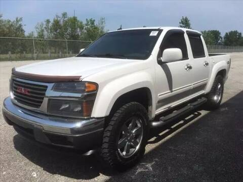 2012 GMC Canyon for sale at Auto Sales & Service Wholesale in Indianapolis IN