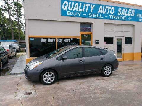 2008 Toyota Prius for sale at QUALITY AUTO SALES OF FLORIDA in New Port Richey FL