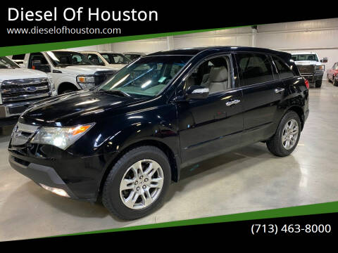 2008 Acura MDX for sale at Diesel Of Houston in Houston TX