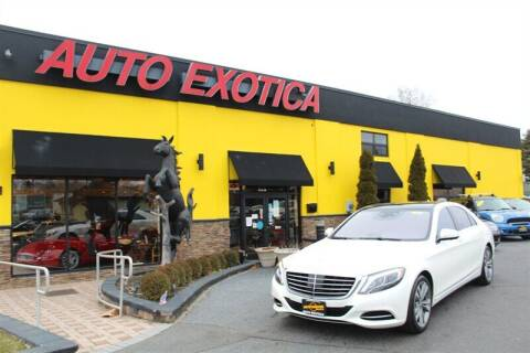 2015 Mercedes-Benz S-Class for sale at Auto Exotica in Red Bank NJ