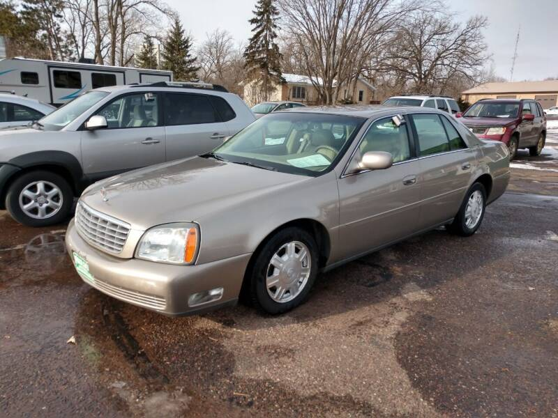 2004 Cadillac DeVille for sale at Paulson Auto Sales in Chippewa Falls WI