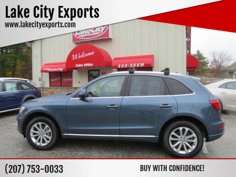 2015 Audi Q5 for sale at Lake City Exports in Auburn ME