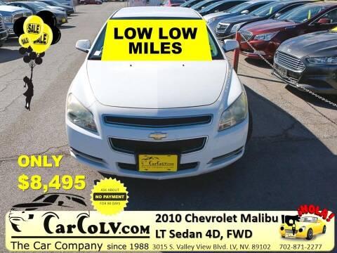 2010 Chevrolet Malibu for sale at The Car Company in Las Vegas NV