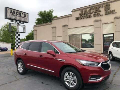 2020 Buick Enclave for sale at JACK'S MOTOR COMPANY in Van Buren AR