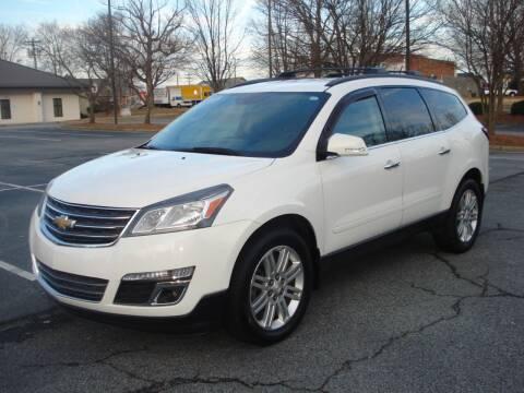 2013 Chevrolet Traverse for sale at Uniworld Auto Sales LLC. in Greensboro NC