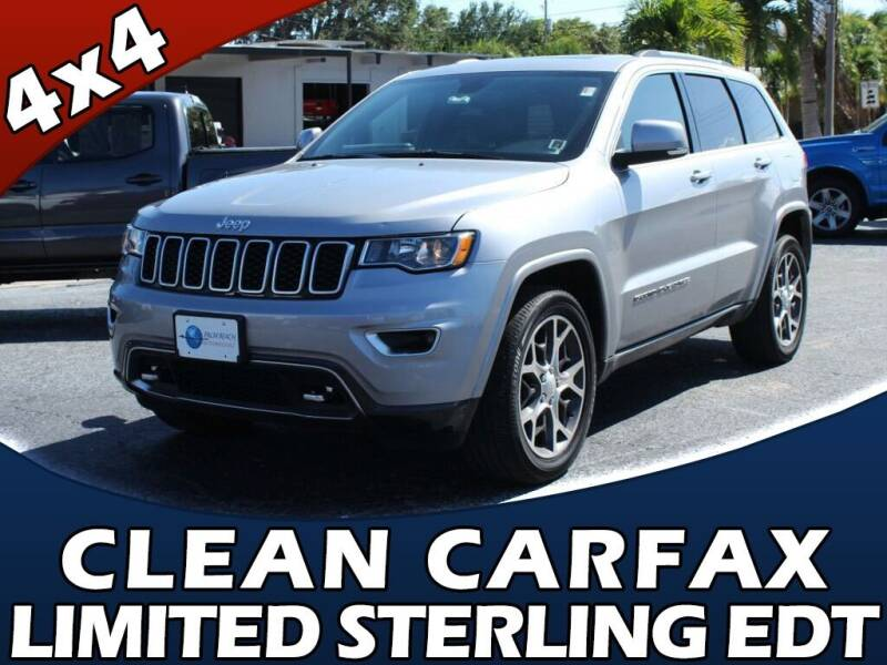2018 Jeep Grand Cherokee for sale at Palm Beach Auto Wholesale in Lake Park FL
