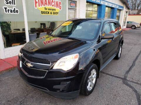 2014 Chevrolet Equinox for sale at AutoMotion Sales in Franklin OH