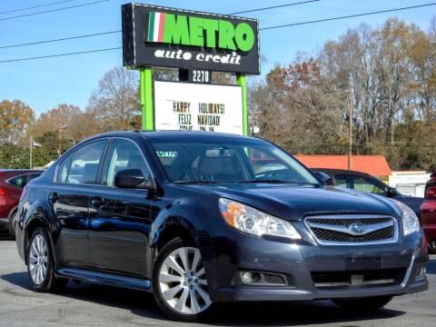 2012 Subaru Legacy for sale at Used Imports Auto - Metro Auto Credit in Smyrna GA