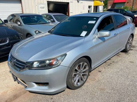2013 Honda Accord for sale at Noel Motors LLC in Griffin GA