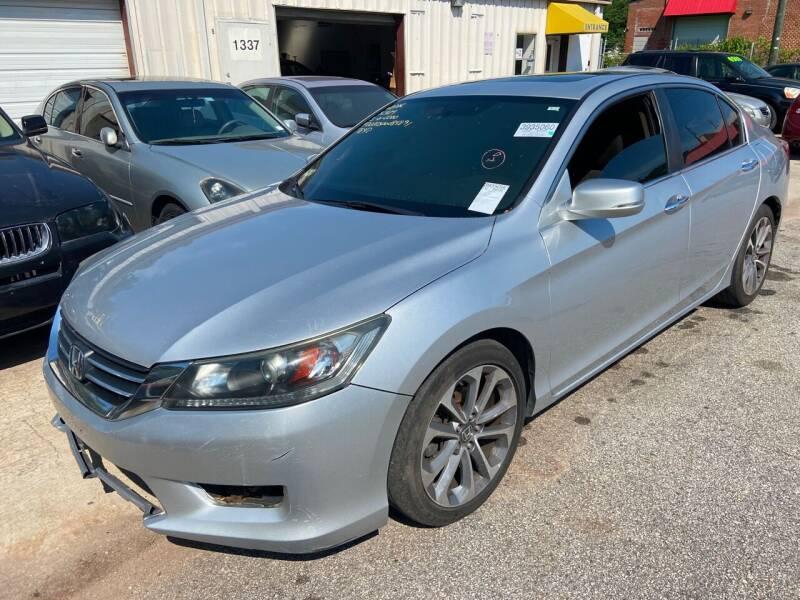 2013 Honda Accord for sale at Noel Motors LLC in Griffin GA