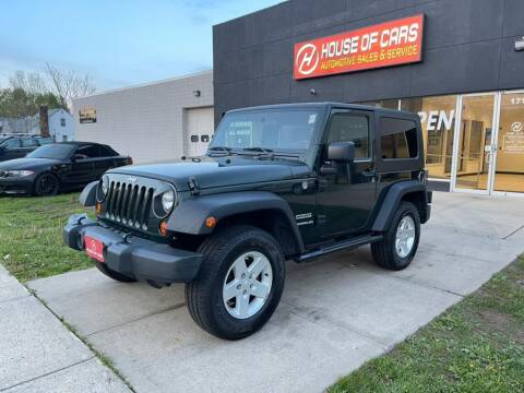 2010 Jeep Wrangler for sale at HOUSE OF CARS CT in Meriden CT
