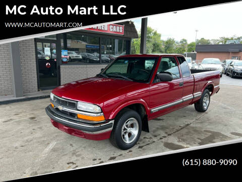 2001 Chevrolet S-10 for sale at MC Auto Mart LLC in Hermitage TN