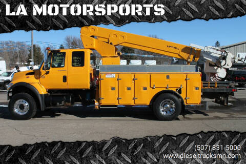 2005 International WorkStar 7400 for sale at LA MOTORSPORTS in Windom MN