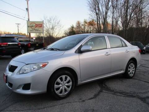 2010 Toyota Corolla for sale at AUTO STOP INC. in Pelham NH