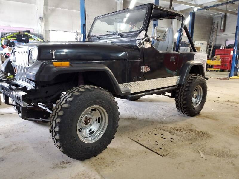 1990 Jeep Wrangler for sale at HIGH COUNTRY MOTORS in Granby CO