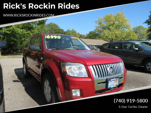 2009 Mercury Mariner for sale at Rick's Rockin Rides in Reynoldsburg OH