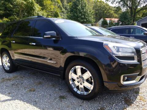 2015 GMC Acadia for sale at W V Auto & Powersports Sales in Cross Lanes WV