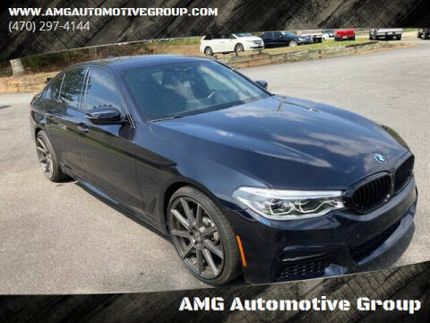 2017 BMW 5 Series for sale at AMG Automotive Group in Cumming GA
