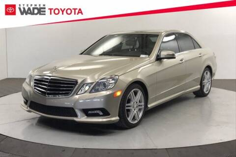 2011 Mercedes-Benz E-Class for sale at Stephen Wade Pre-Owned Supercenter in Saint George UT