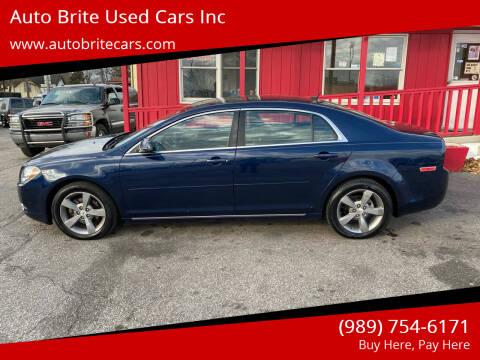 2011 Chevrolet Malibu for sale at Auto Brite Used Cars Inc in Saginaw MI