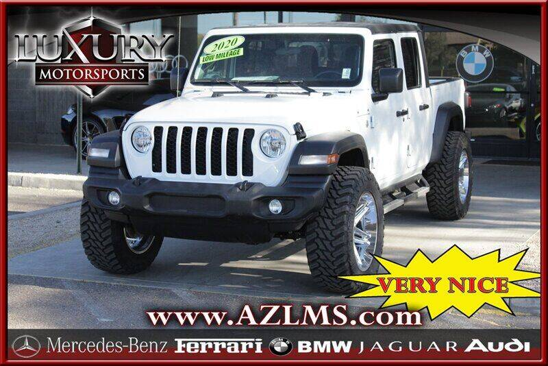 2020 Jeep Gladiator for sale at Luxury Motorsports in Phoenix AZ