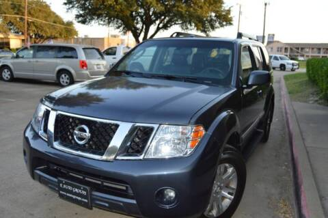 2012 Nissan Pathfinder for sale at E-Auto Groups in Dallas TX