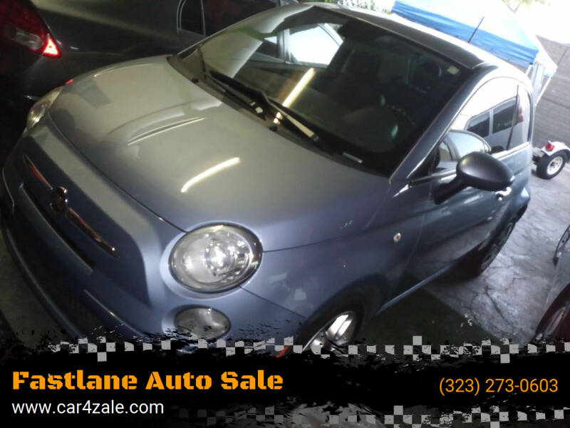 2014 FIAT 500 for sale at Fastlane Auto Sale in Los Angeles CA