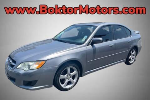 2009 Subaru Legacy for sale at Boktor Motors in North Hollywood CA