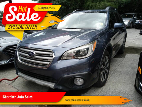 2015 Subaru Outback for sale at Cherokee Auto Sales in Acworth GA