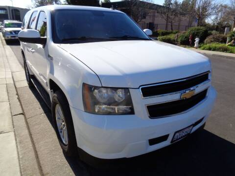 2008 Chevrolet Tahoe for sale at NorCal Auto Mart in Vacaville CA