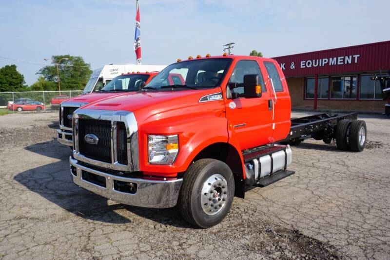 2022 Ford F-650 Super Cab  for sale at Rick's Truck and Equipment in Kenton OH