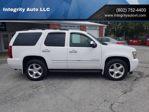 2009 Chevrolet Tahoe for sale at Integrity Auto LLC - Integrity Auto 2.0 in St. Albans VT