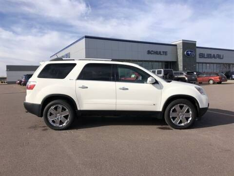 2010 GMC Acadia for sale at Schulte Subaru in Sioux Falls SD
