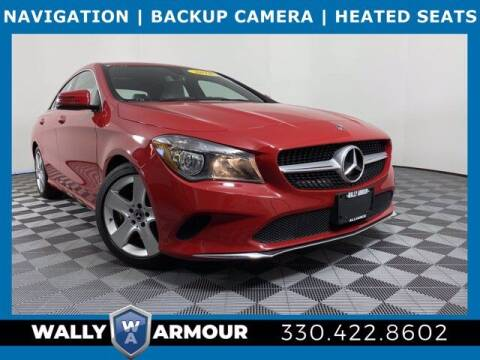 2018 Mercedes-Benz CLA for sale at Wally Armour Chrysler Dodge Jeep Ram in Alliance OH
