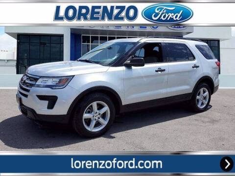 2018 Ford Explorer for sale at Lorenzo Ford in Homestead FL