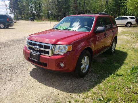 2010 Ford Escape for sale at Northwoods Auto & Truck Sales in Machesney Park IL