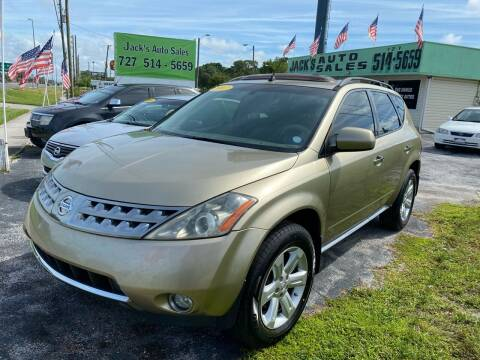 2007 Nissan Murano for sale at Jack's Auto Sales in Port Richey FL