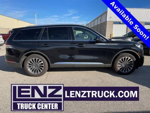 2021 Lincoln Aviator for sale at LENZ TRUCK CENTER in Fond Du Lac WI