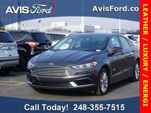 2018 Ford Fusion Energi for sale at Work With Me Dave in Southfield MI