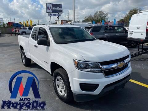 2015 Chevrolet Colorado for sale at Auto Mayella in Miami FL
