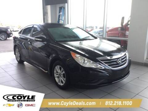 2014 Hyundai Sonata for sale at COYLE GM - COYLE NISSAN in Clarksville IN