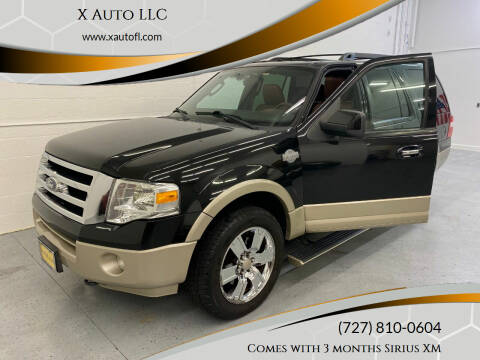 2010 Ford Expedition for sale at X Auto LLC in Pinellas Park FL